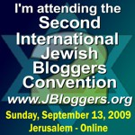 I'm participating in the Second Jewish Bloggers Convention - Presented by Nefesh B'Nefesh - and Powered by WebAds!