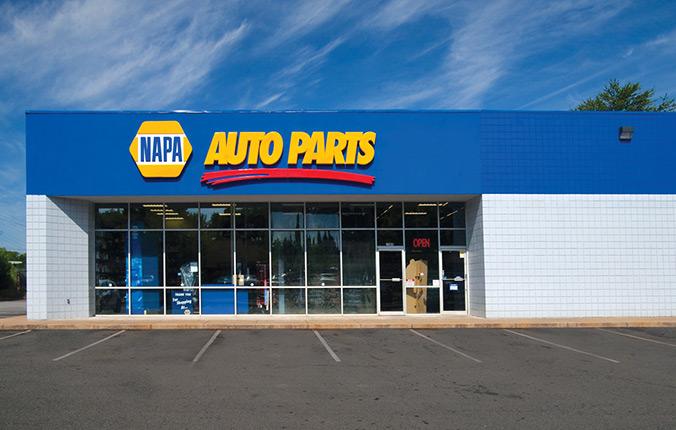 Exterior image of a Napa store